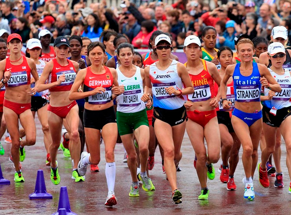 Maratona em Londres-2012