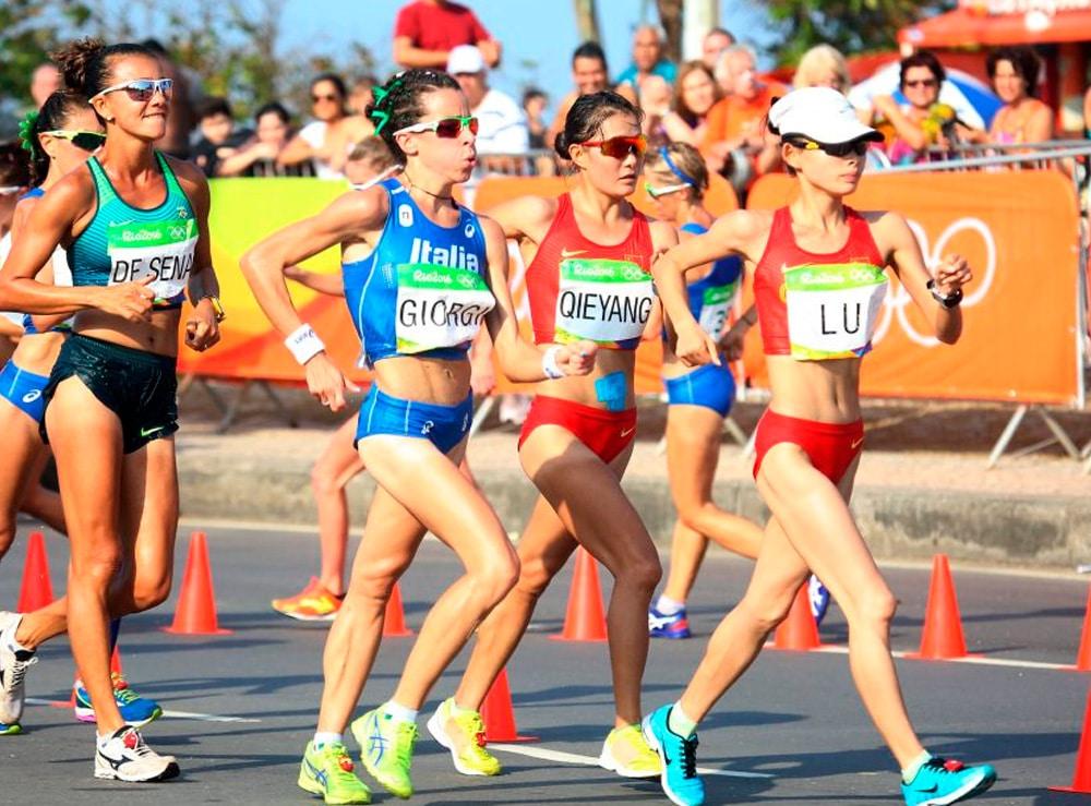 Marcha 20km Feminina na Rio-2016