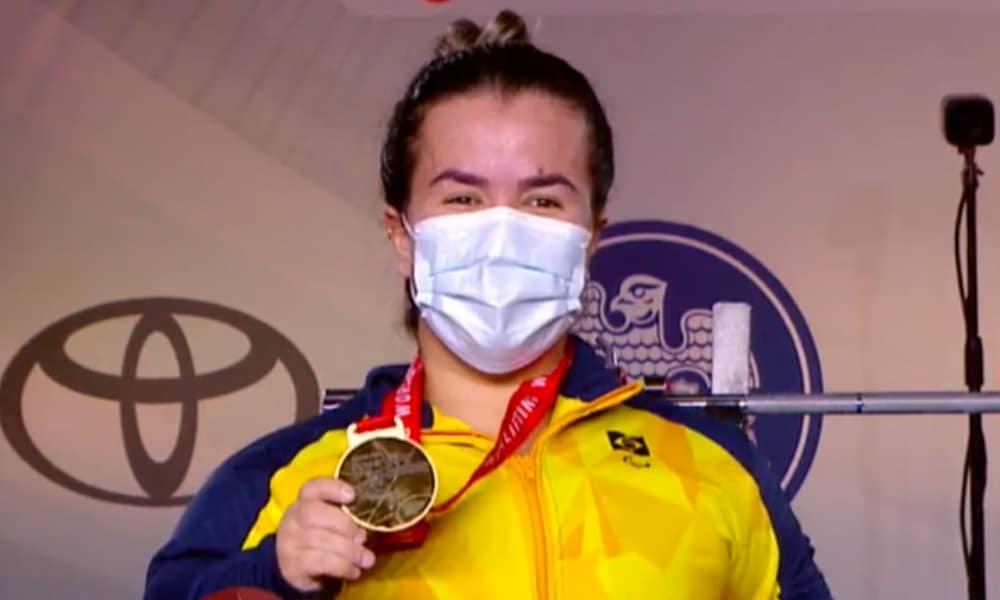 Mariana D'Andrea - Copa do Mundo de halterofilismo paralímpico