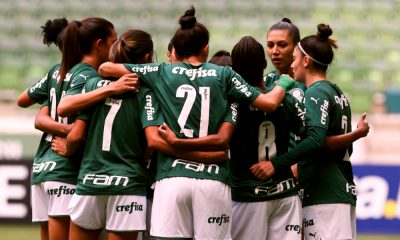 Palmeiras e Flamengo - Brasileiro Feminino
