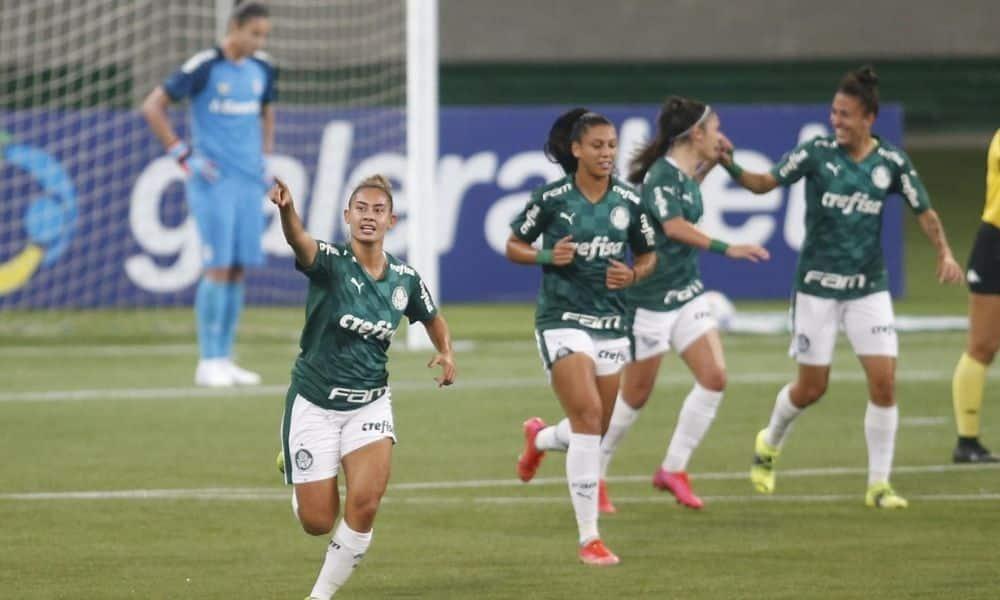 Palmeiras x Grêmio Campeonato Brasileiro de futebol feminino Carol Baiana