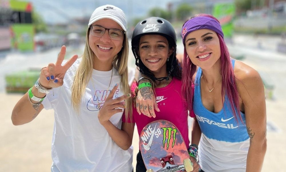 Pâmela Rosa Rayssa Leal Letícia Bufoni skate street feminino Jogos Olímpicos de Tóquio 2020