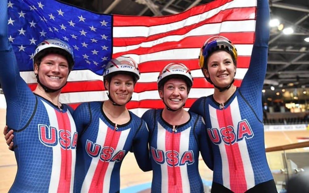 Perseguição por equipes feminino EUA