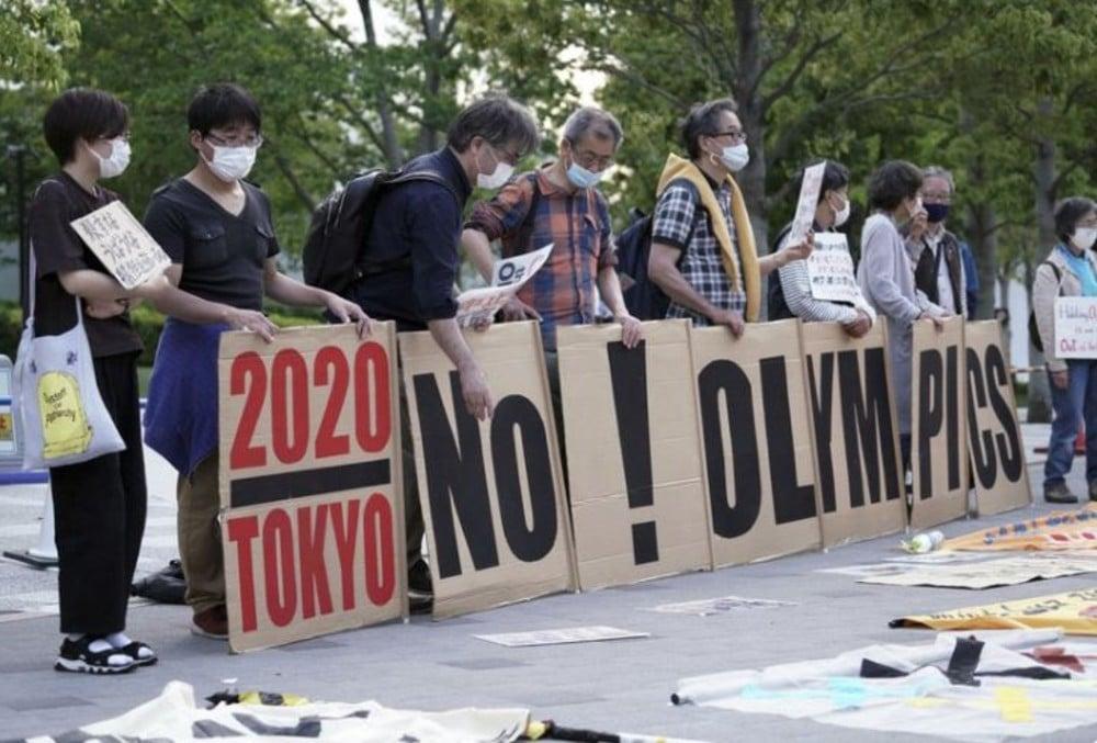 Protesto Tóquio 2020