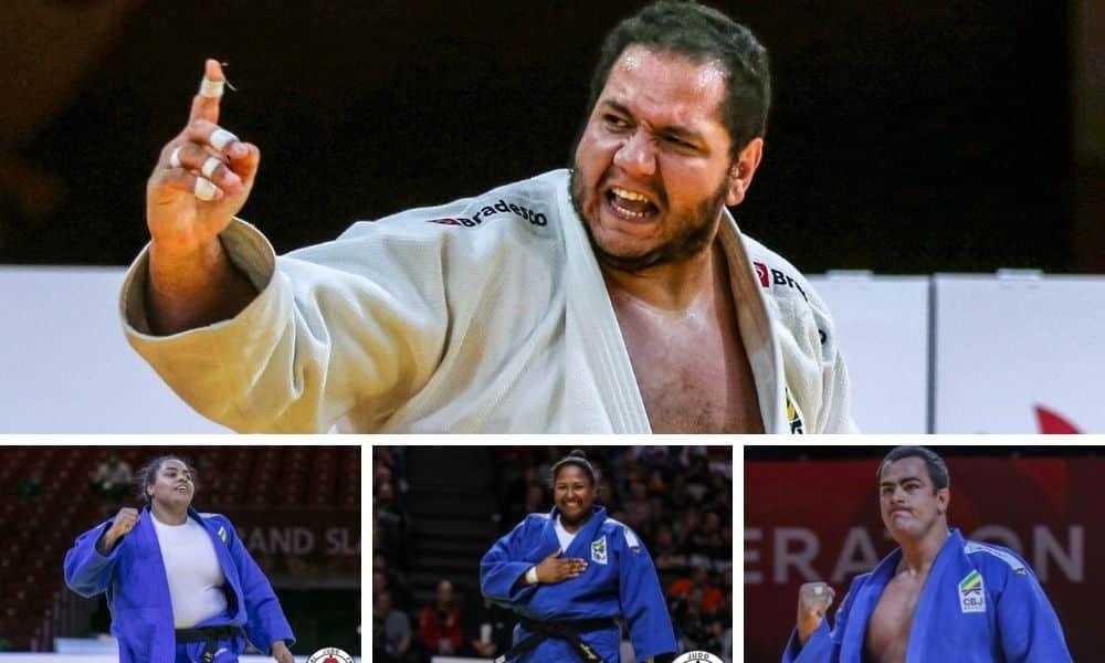 RAfael Silva Maria Suelen Altheman David Moura Beatriz Souza Grand Slam de Kazan de judô