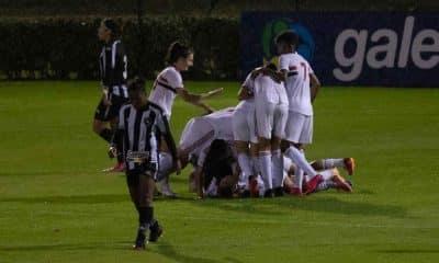 São Paulo x Botafogo Campeonato Brasileiro de futebol feminino