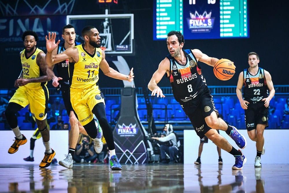 San Pablo Burgos x Hapoel - Champions League de basquete