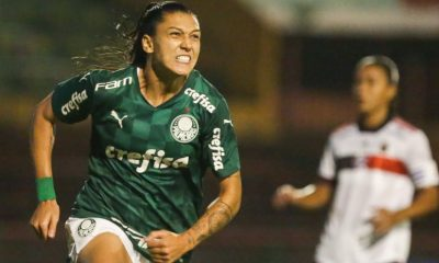 Palmeiras x Flamengo Brasileiro feminino Bia Zaneratto