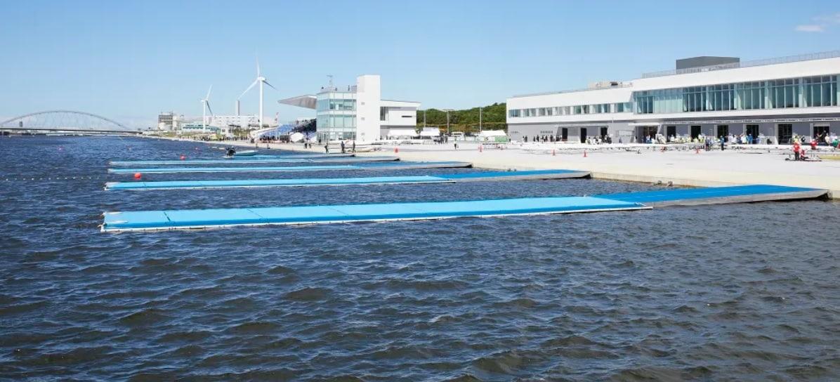 Sea Forest Waterway canoagem velocidade tóquio jogos olímpicos