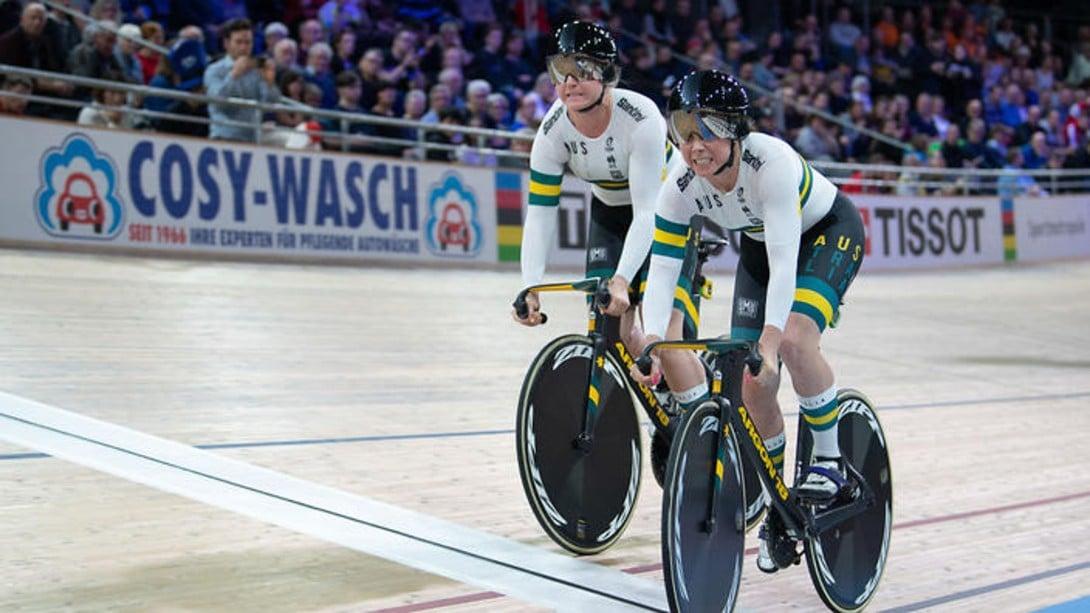 Sprint equipes Kaarle McCulloch e Stephanie Morton Austrália