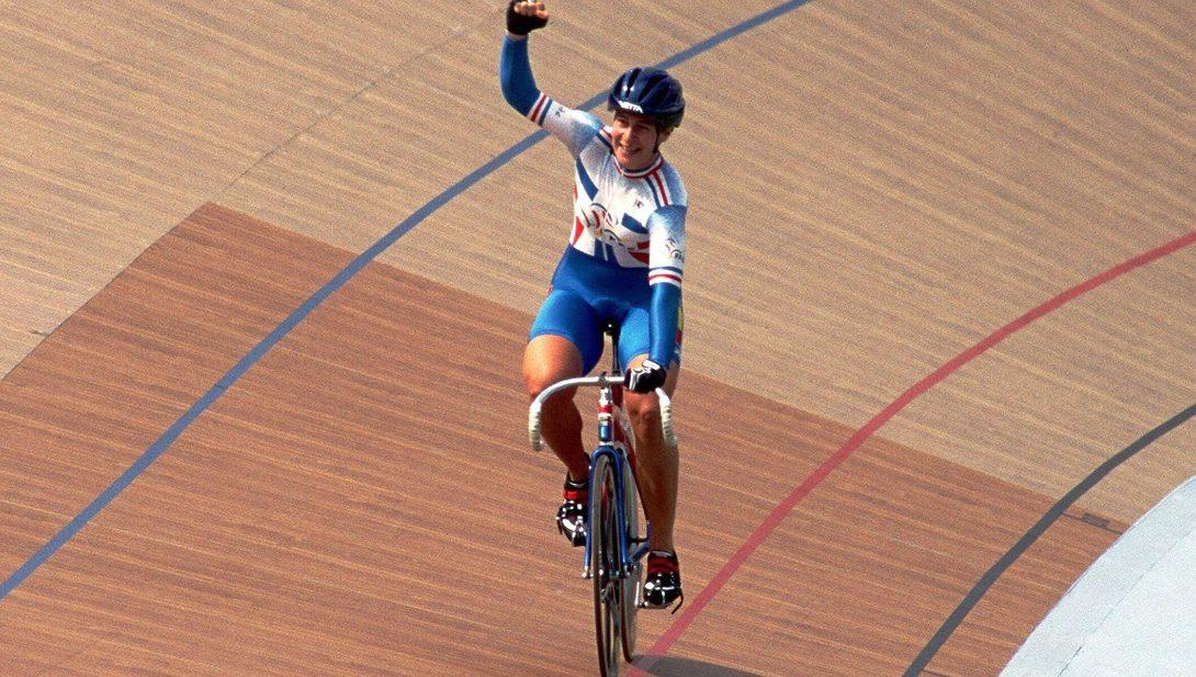 Sprint feminino Félicia Ballanger