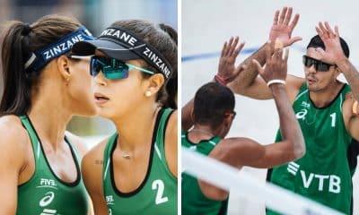 Taina Victoria e Guto Arthur Mariano Etapa de Sochi do Circuito Mundial de vôlei de praia