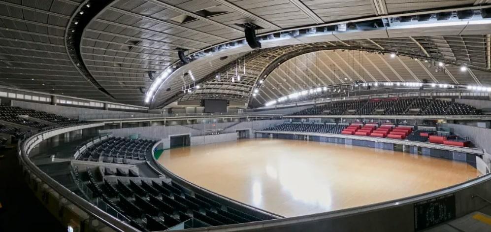 Tokyo Metropolitan Gym tênis de mesa jogos olímpicos de tóquio