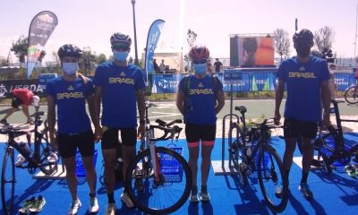 Revezamento misto brasileiro - Pré-Olímpico de triatlo - Tóquio 2020