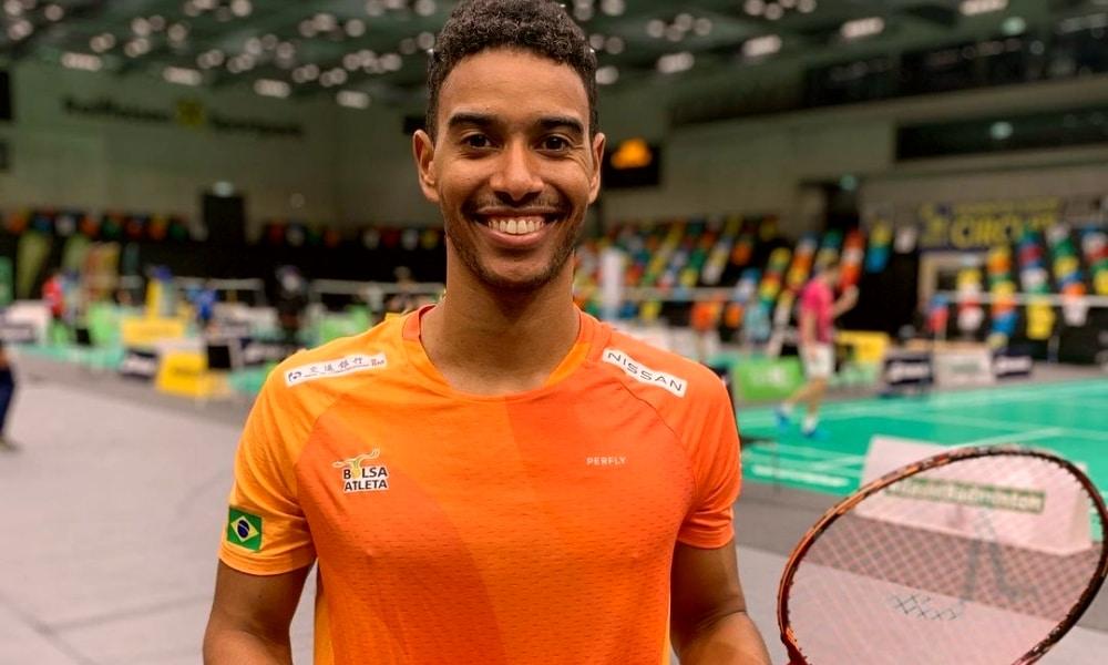 Ygor Coelho - Aberto da Áustria de badminton