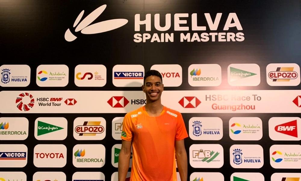 Ygor Coelho - Masters da Espanha de Badminton