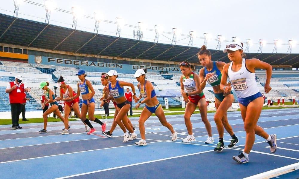 ao vivo sul-americano de atletismo