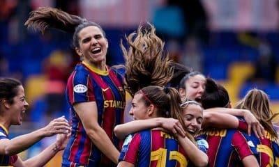 Champions Feminina PSG Barcelona Formiga