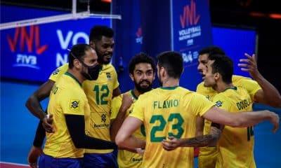 Brasil Canadá Liga das Nações de vôlei masculino