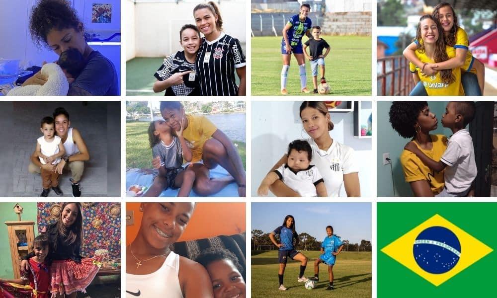 dia das mães do futebol feminino