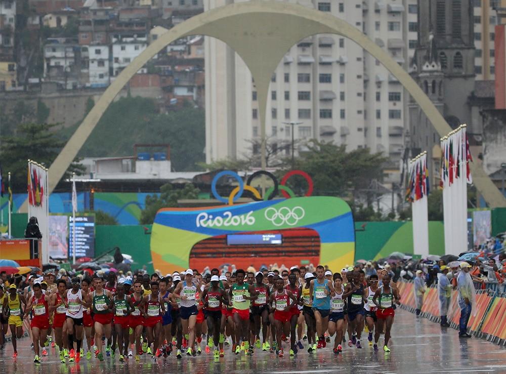 Maratona na Rio-2016