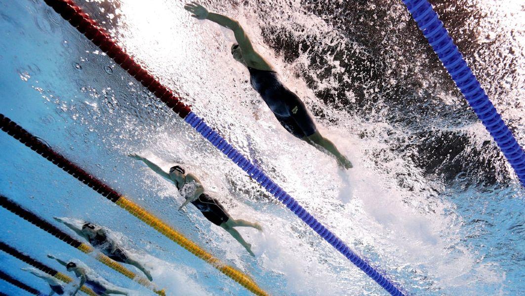 Natação feminina Rio 2016