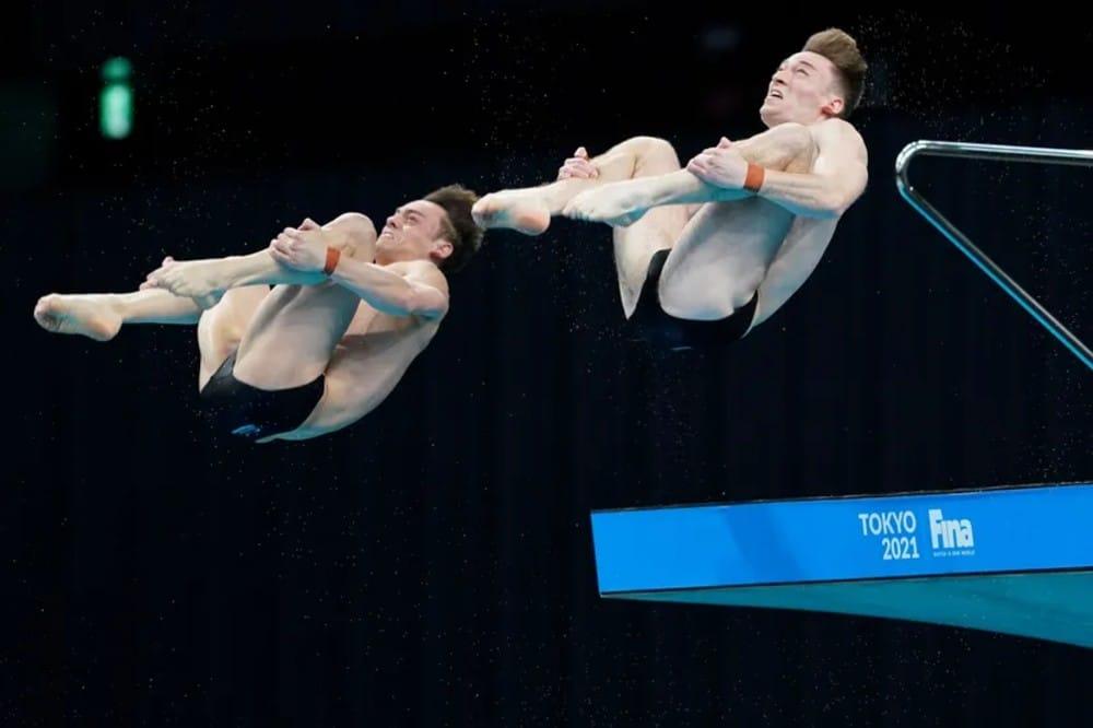 saltos ornamentais tom daley mattew lee
