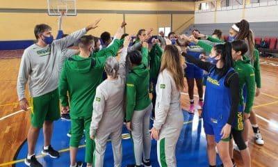 seleção brasileira de basquete feminino começa preparação para a americup