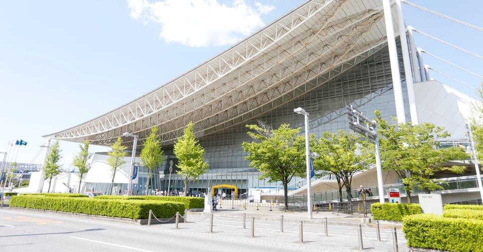 Makuhari Messe Hall wrestling jogos olímpicos tóquio