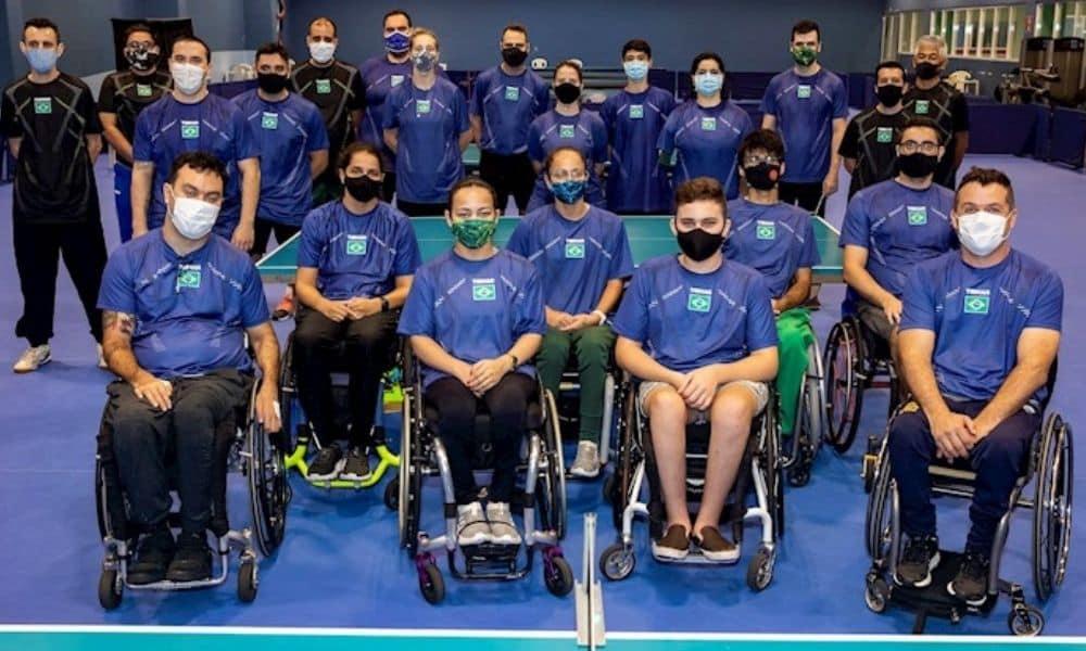 tênis de mesa do Brasil se prepara para a Paralimpíada