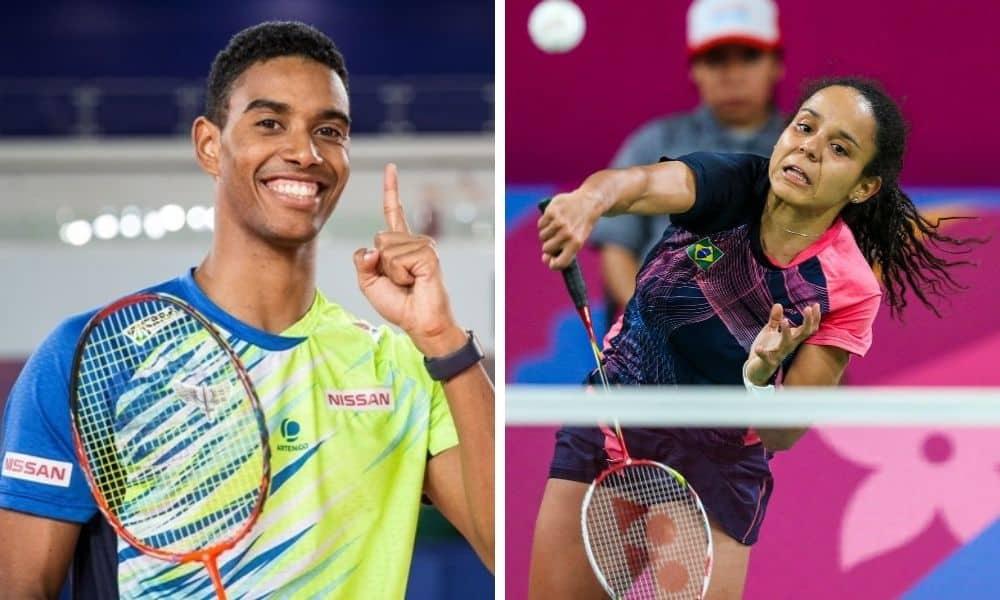 ygor coelho fabiana silva classificados para representar o brasil no badminton nos jogos olímpicos de tóquio