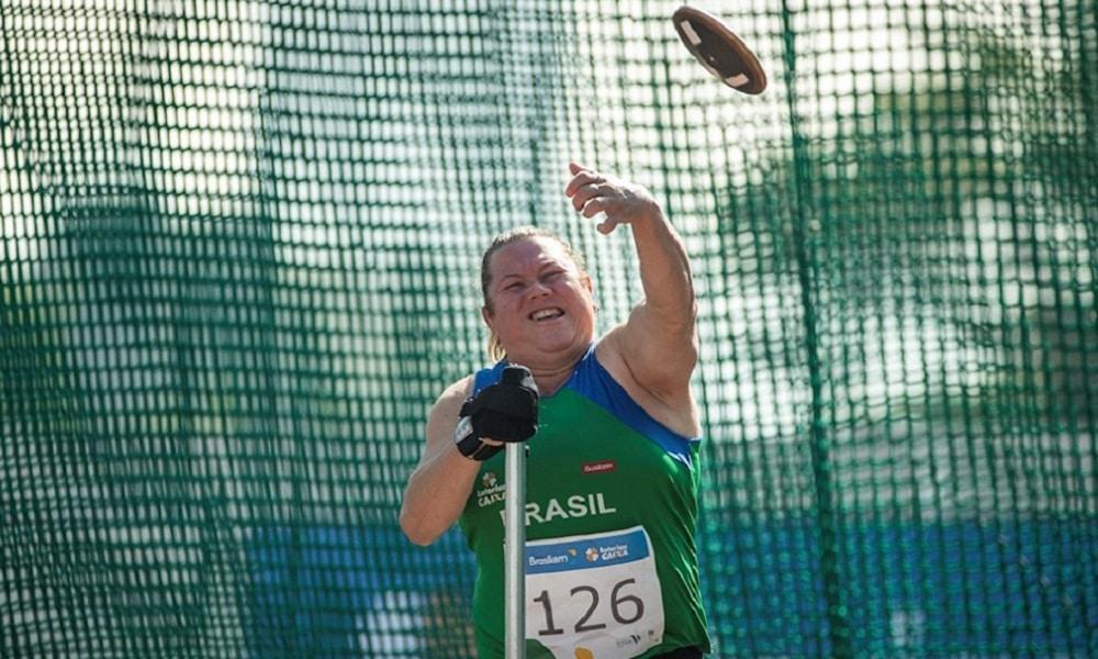 Beth Gomes seletiva paralímpica de atletismo
