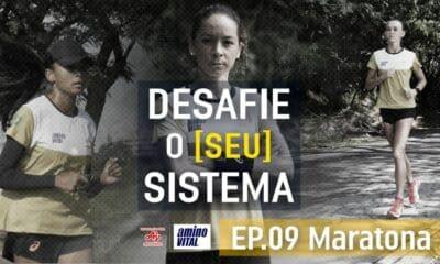 Adriana Silva, Andreia Hessel e Valdilene Santos maratona