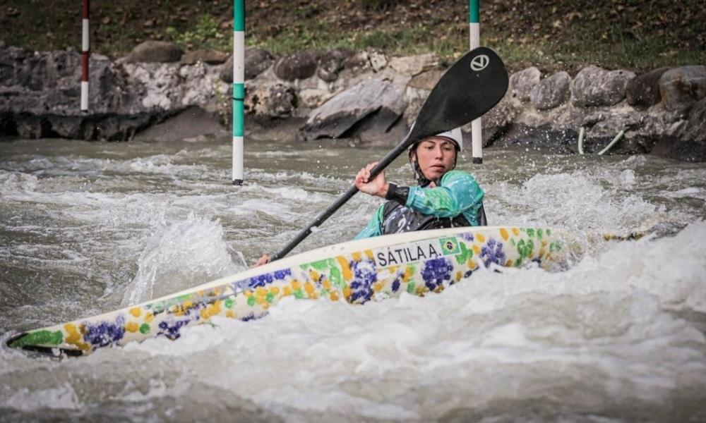 Ana Sátila - Pepê Gonçalves - Copa do Mundo de canoagem slalom