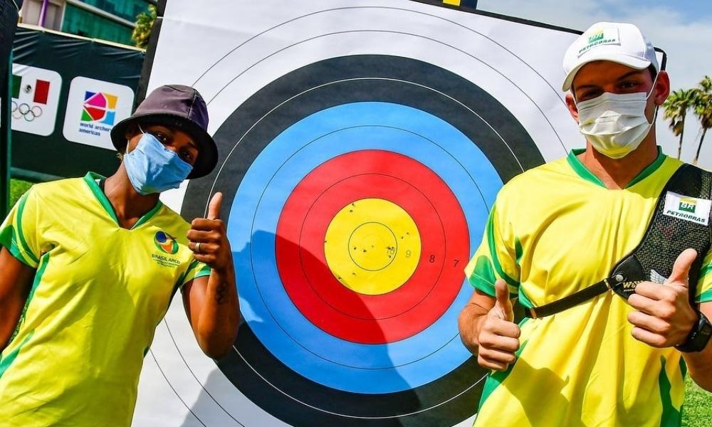 Ane Marcelle - Marcus 'Almeida - Copa do Mundo de tiro com arco