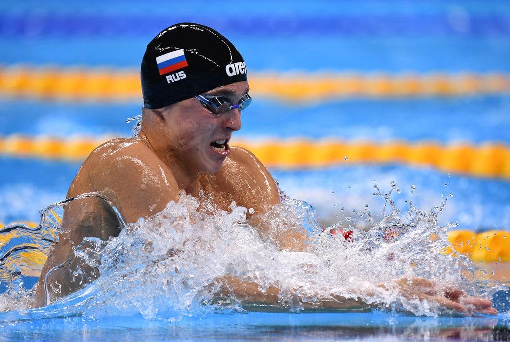 Anton Chupkov Natação
