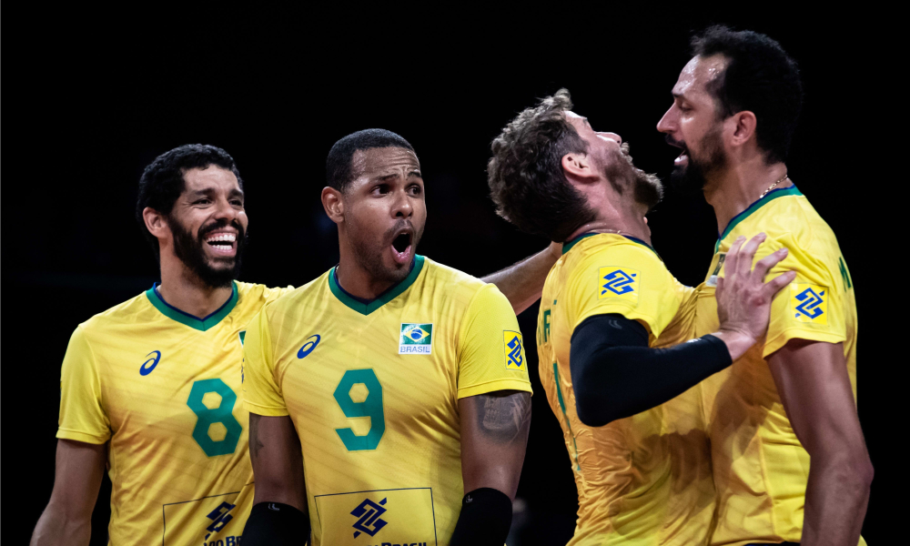 Brasil e Polônia - Final Liga das Nações masculina
