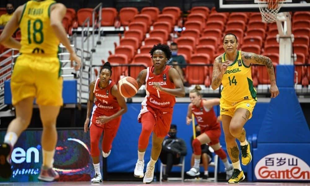 Brasil x Canadá AmeriCup de basquete feminino