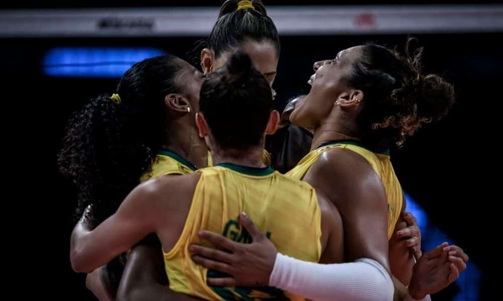 Brasil x Turquia Liga das Nações feminina