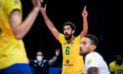 Brasil Itália Japão Liga das Nações masculina ao vivo