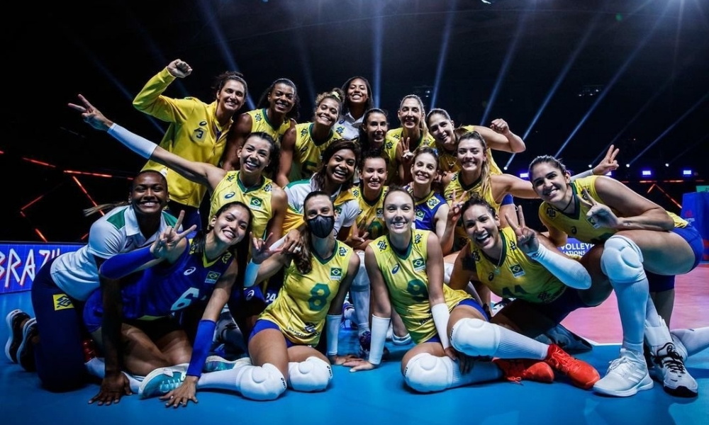Brasil - Seleção brasileira de vôlei feminino - Zé Roberto - Tóquio 2020