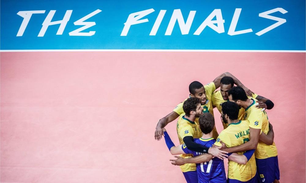 Brasil e França - Liga das Nações masculina