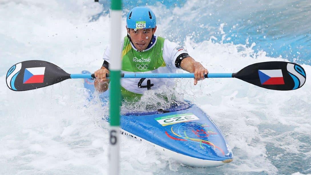 Jiri Prskavec Canoagem slalom