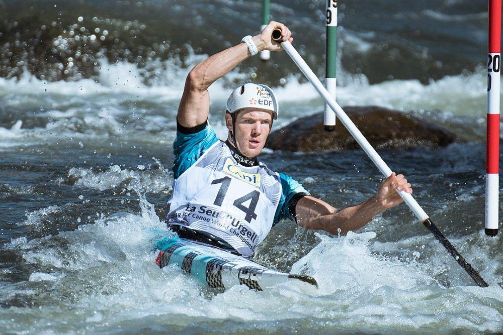 Martin Thomas canoagem slalom