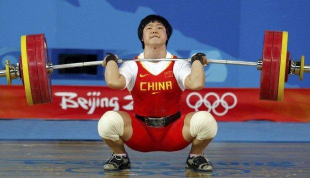 Liu Chunhong levantamento de peso jogos olímpicos tóquio