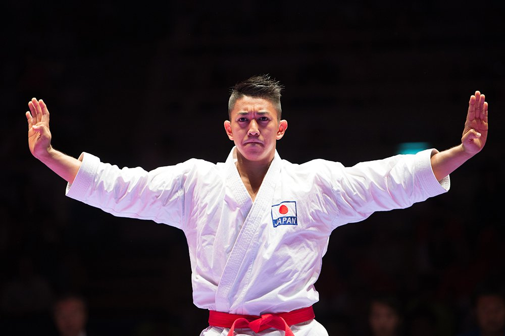 Ryo Kiyuna caratê jogos olímpicos