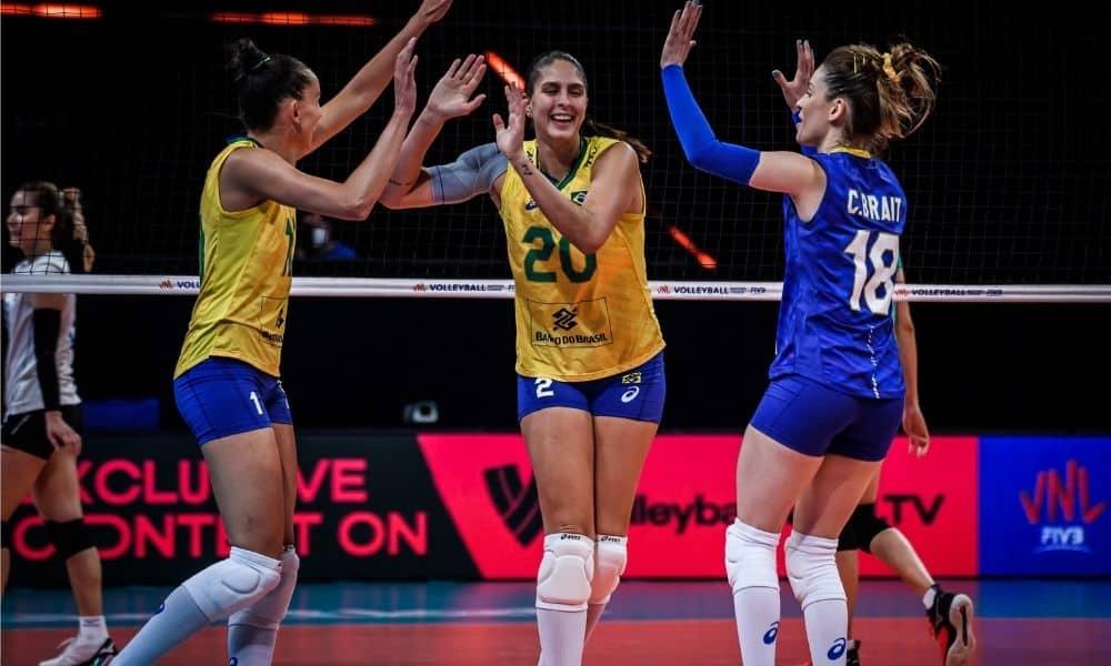 Brasil e Tailândia - Liga das Nações feminina