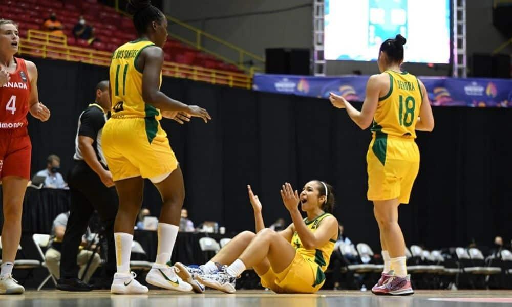 Acompanhe ao vivo: Brasil x Ilhas Virgens- Americup feminina de basquete