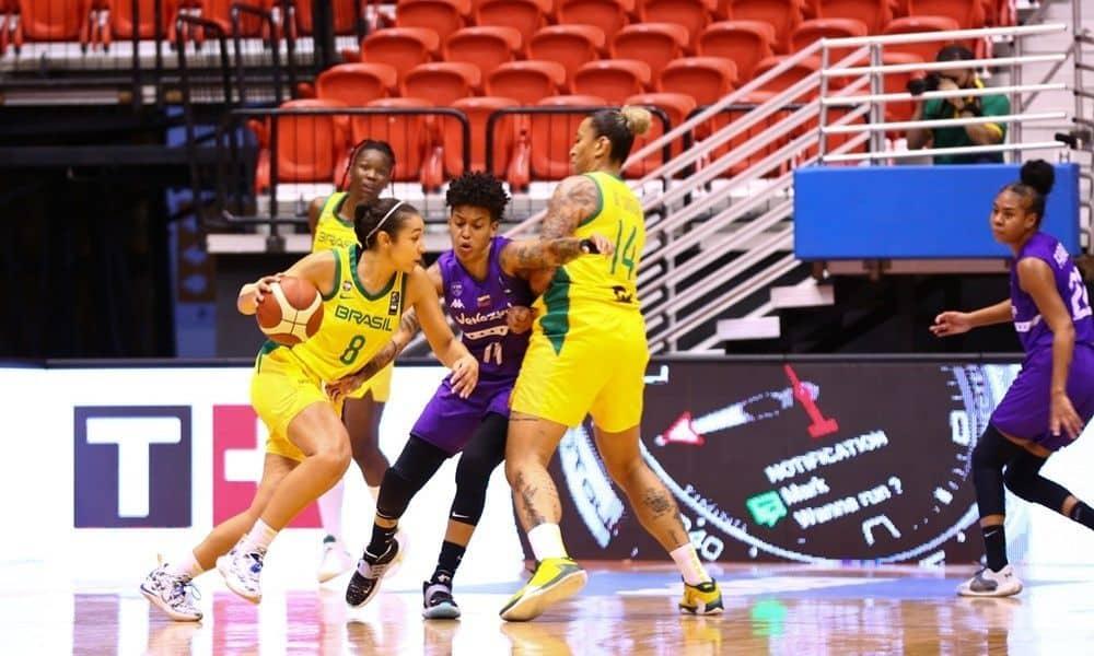 Brasil x Venezuela - Americup de basquete feminino