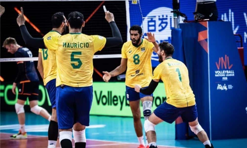 Brasil x Eslovênia - Liga das Nações masculina